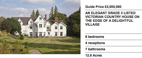 First offered to me in Nov 2014 at £5m I agreed terms to buy this lovely home at £3.6m.