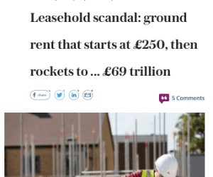 The Leasehold Scandal