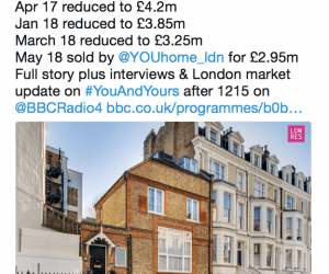 You & Yours – taking the temprature of the London market
